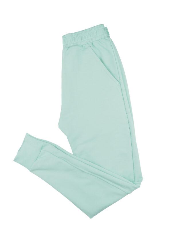 Spodnie dresowe miętowe
