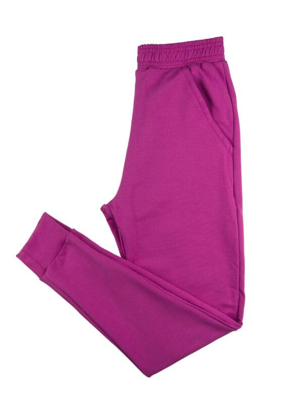 Spodnie dresowe fuksja